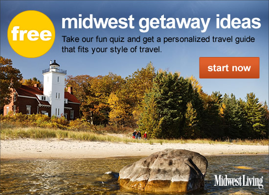 Midwest Getaway Ideas - Take our fun quiz and get a personalized travel guide that fits your style of travel.